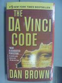【書寶二手書T5/原文小說_NMG】The Da Vinci Code_Dan Brown