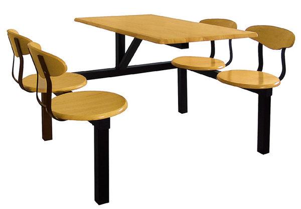 [ 家事達] OA-784-1 四人座速食餐桌椅 已組裝 限送台中市/苗栗/彰化/南投縣市