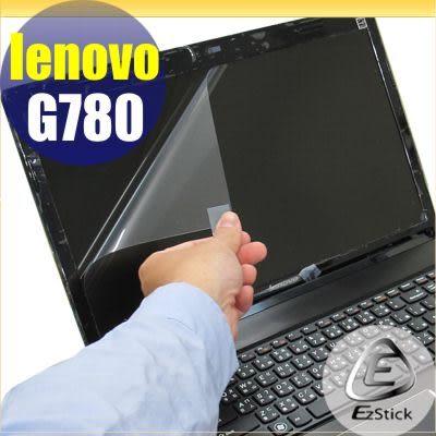 【EZstick】Lenovo IdeaPad G780  專用 靜電式筆電LCD液晶螢幕貼 (可選鏡面及霧面) 另有客製化服務