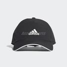 adidas 帽子 C40 5 Panels Climalite Cap 黑 白 男女款 老帽 【ACS】 CG1781