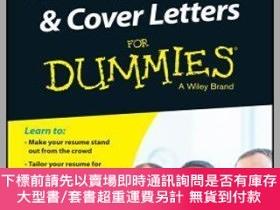 二手書博民逛書店預訂Writing罕見Resumes And Cover Letters For Dummies, Second