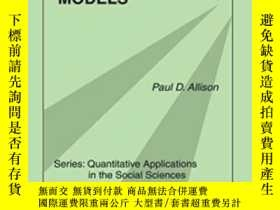 二手書博民逛書店Fixed罕見Effects Regression Models (quantitative Applicatio