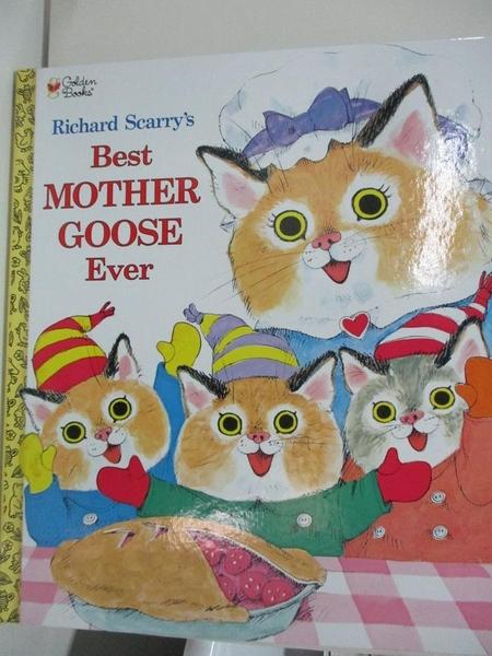 【書寶二手書T1/電玩攻略_DQ9】Richard Scarry's Best Mother Goose Ever_Scarry