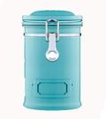 【Pearl Hourse】寶馬牌 郵筒式密封罐(淺藍) 900CC