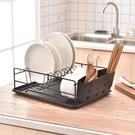 瀝水架 碗架瀝水架北歐碗碟架晾碗盤架單層雙層廚房收納架子置物架瀝水籃 快速出貨