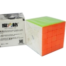 魔方格 啟征S五階魔術方塊 158(螢光色6.3cm)/一個入(定299) 比賽專用 五節魔術方塊 5x5x5-鑫158-首BB5252