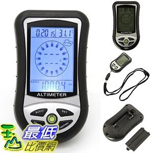 [7美國直購] Durable 多功能高度計數字計 8 in 1 Multifunction Altimeter Digital LCD Compass Barometer Thermometer