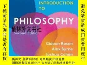 二手書博民逛書店【罕見】The Norton Introduction To PhilosophyY27248 Alex By