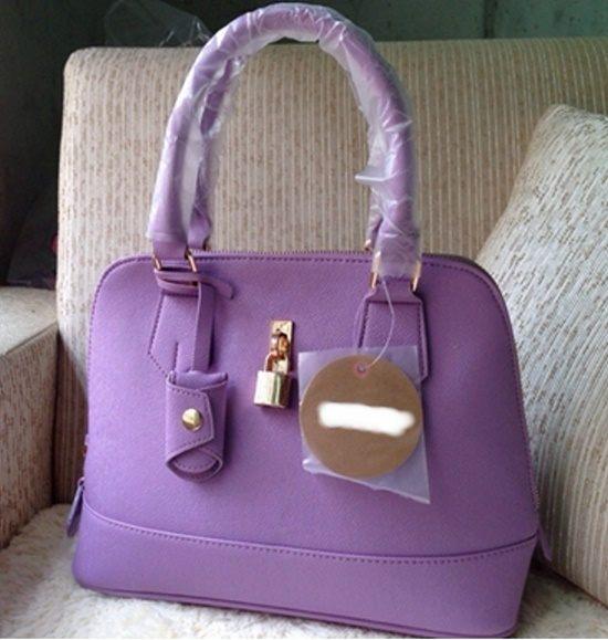 [清倉大拍賣] 側背包/手提包二用-日本進口繽紛多彩鎖頭復古包 限量發售