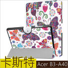 彩繪三折皮套 宏碁 Acer Iconi...