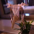 男蕾絲內褲 年度熱銷款 蕾絲吊襪帶 三角內褲吊帶情趣男絲襪XH_蕾絲吊襪帶