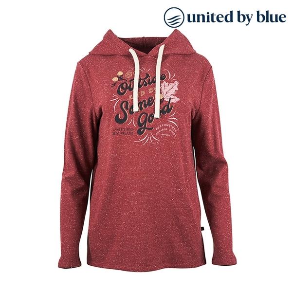 United by Blue 女起球長袖連帽上衣 201-075 Go Outside Hooded Pullover / 城市綠洲 (有機棉、長版帽T)