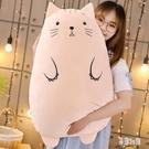 恐龍毛絨玩具可愛豬玩偶 90cm抱枕靠墊公仔 送女生抱著睡覺娃娃長條枕 CJ5887『易購3c館』