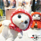 【SZ】SONY Z5手機殼 毛絨甜蜜貓 Z2手機殼 Z3手機殼 立體韓國貓咪公仔