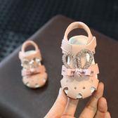 【618】好康鉅惠女寶寶包頭0-3歲鏤空夏涼鞋軟底嬰兒學步鞋