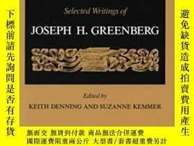 二手書博民逛書店On罕見LanguageY255562 Greenberg, Joseph H.  Denning, Keit