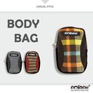 拼接系列 ~ 休閒小包 / 隨身袋 / 手機袋  格子紋 AMINAH~【am-0104】