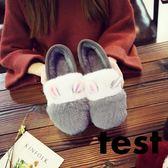 豆豆鞋 加絨女韓版平底鞋防滑瓢鞋毛毛鞋保暖棉鞋學生 艾米潮品館