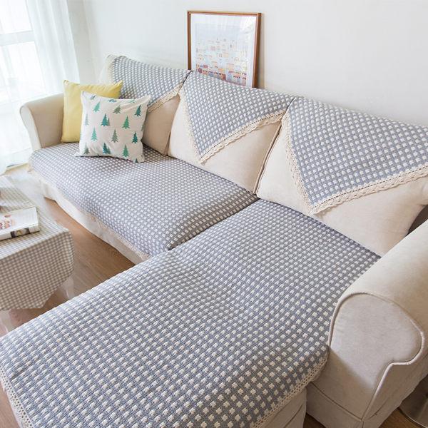 時尚簡約四季沙發巾 沙發墊防滑沙發套47 (客製尺寸14)