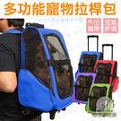 伸縮拉桿可以讓使用上更輕鬆,走在人多的地方時,還有背帶可以使用,增加安全性,兩側有收納袋可放雜物喲!