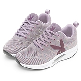 PLAYBOY 獨家飛織 足弓氣墊休閒鞋-紫(Y6737)