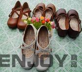 新年鉅惠 日系娃娃鞋學生演出小皮鞋森女系搭扣小清新平底可愛圓頭女鞋