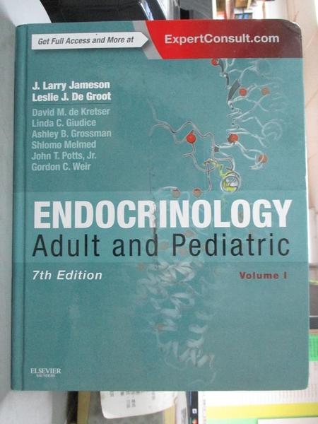 【書寶二手書T1/大學理工醫_YJF】Endocrinology-Adult & Pediatric_Jameson