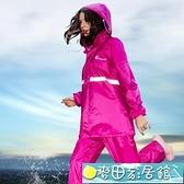 雨衣 琴飛曼雨衣雨褲套裝女全身分體男雨披成人騎行外賣電動摩托車雨衣 快速出貨