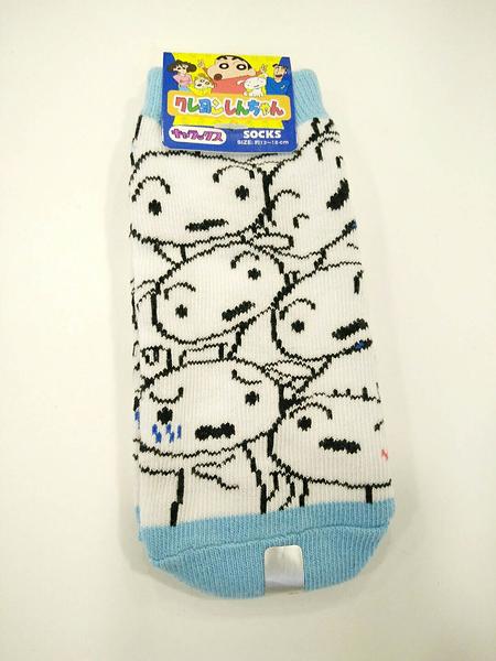 【震撼精品百貨】蠟筆小新_Crayon Shin-chan~小新兒童用短襪(13~18CM)-小白#43092