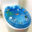 設計師美術精品館廁所樹脂馬桶蓋UVO型通...