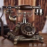 歐式復古電話機座機家用仿古電話機復古轉盤電話座機古董復古電話   潮流衣舍