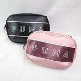 PUMA CORE 側背小包 07739101 黑 07739103 玫瑰紅【iSport愛運動】