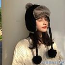 冬天加絨加厚保暖帽雷鋒帽女秋冬季韓版百搭針織可愛毛線護耳帽子 年前鉅惠