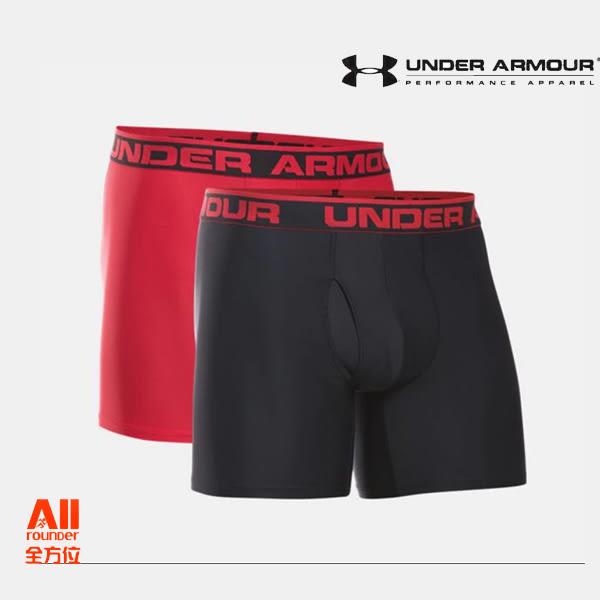 【Under Armour 安德瑪】男士 6英寸Boxerjock內褲 - 單色2條裝(1282508003)全方位跑步概念館