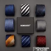 領帶romguest領帶男士韓版6cm窄休閒商務職業學生女正裝新郎結婚襯衫 7月特賣