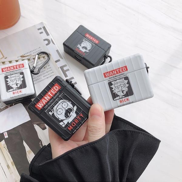 Airpods Pro 專用 1/2代 台灣發貨 [ 緝捕瑞克與莫蒂 ] 藍芽耳機保護套 蘋果無線耳機保護
