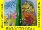 二手書博民逛書店The罕見Monster Marathon:怪物馬拉松Y200392