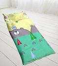 HO KANG 兒童睡袋加大款  100%純棉鋪棉涼被兩用- 青春小熊