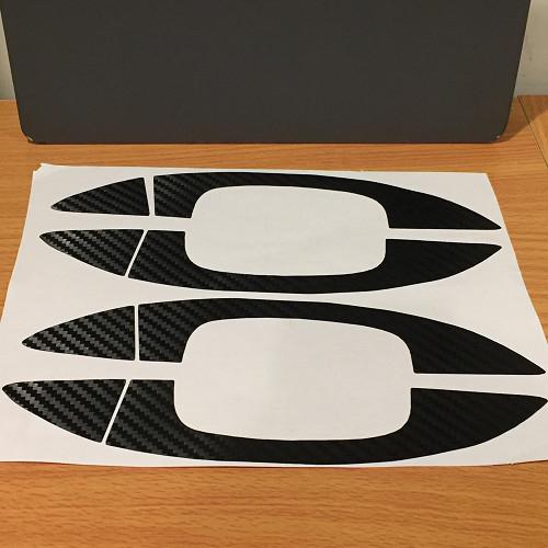 VW 碳纖維 車門外把手貼 貼紙 卡夢 GOLF6 CC PASSAT 沂軒精品 A0384