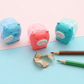 ✭米菈生活館✭【P119】可愛豬鉛筆削筆器 學生用品 文具 辦公用品 削筆刀