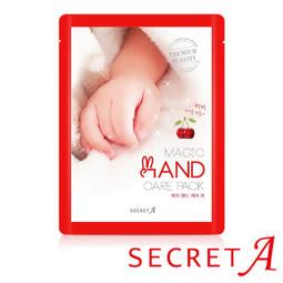 韓國 Secret A 秘密A 保濕修護滋潤手膜1雙