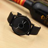黑五好物節新概念個性創意科技青年手錶男女學生韓版【洛麗的雜貨鋪】