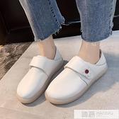 小白鞋女鞋2020新款春季鞋子潮鞋軟底單鞋透氣小皮鞋不累腳護士鞋  夏季新品