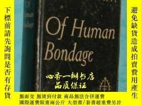 二手書博民逛書店of罕見Human Bondage(1936年英文原版書《人性的