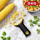 《不囉唆》OXO Y型玉米刨粒刀(不挑色/款) 切片 切菜神器 護手 廚房用品 【A432511】
