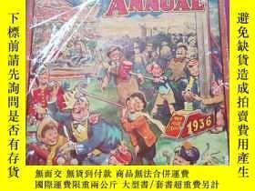 二手書博民逛書店12開精裝1936外文原版《兒童娛樂博覽會sparkler罕見fun fair annual》Y7460