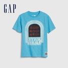 Gap男童星際大戰圓領短袖T恤573653-綠色