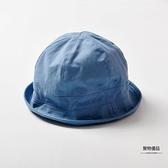 漁夫帽春秋兒童防曬遮陽帽男童太陽帽嬰兒帽子可愛女寶寶【聚物優品】