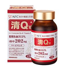 日本AFC 菁鑽系列 清Q10 膠囊食品 120粒 (清爽快調,還給健康新淨流) 專品藥局【2006856】