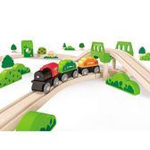 【免運費】《 德國 Hape 愛傑卡》 軌道系列 - 森林組合╭★ JOYBUS玩具百貨